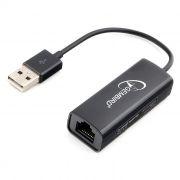 Адаптер USB Am - RJ45 10/100 Мбит/с, Gembird (NIC-U2)