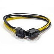Кабель удлинитель питания видеокарты 6+2 pin, 0.30 м, Cablexpert (CC-PSU-84)