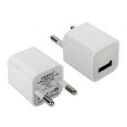 Зарядное устройство ORIENT PU-2301 100/220V->5V, 1A USB, белое