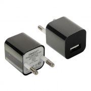 Зарядное устройство ORIENT PU-2301 100/220V->5V, 1A USB, черное