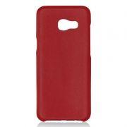 Клип-кейс для Samsung A5 2017, красный, шероховатый, TPU, Perfeo (PF_5279)