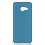 Клип-кейс для Samsung A5 2017, синий, шероховатый, TPU, Perfeo (PF_5280)