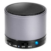 Колонка 1.0 Perfeo CAN, Bluetooth, MP3, FM, 3W, 500 мАч, серебристая (PF-BT-CN-SL) (PF_5210)