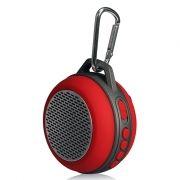 Колонка 1.0 Perfeo SOLO, Bluetooth, MP3, FM, 5W, 600 мАч, красная (PF-BT-SOLO-RD) (PF_5206)