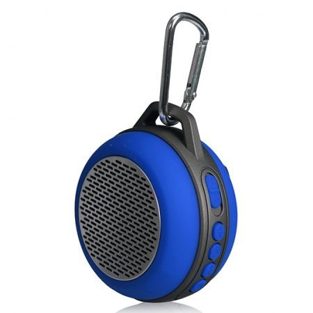 Колонка 1.0 Perfeo SOLO, Bluetooth, MP3, FM, 5W, 600 мАч, синяя (PF-BT-SOLO-BL) (PF_5205)
