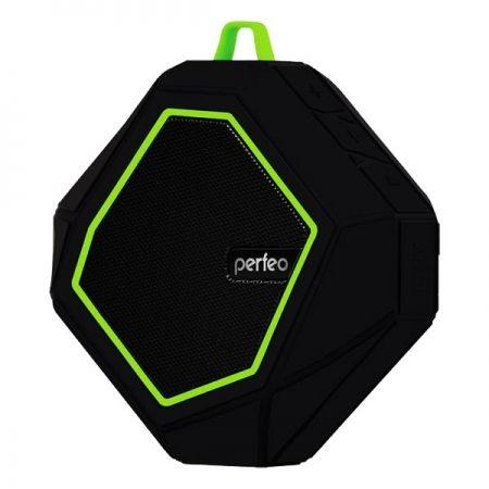 Колонка 1.0 Perfeo TRIBUTE, Bluetooth, MP3, FM, 6W, 100 мАч, черная (PF-BT-TRTE-BKGR) (PF_5208)