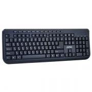 Клавиатура PERFEO PF-004 Texter, черная, USB