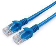 Кабель патч-корд UTP 5е категории 0.25 м, синий, Cablexpert (PP12-0.25M/B)