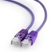 Кабель патч-корд UTP 5е категории 0.5 м, фиолетовый, Cablexpert (PP12-0.5M/V)
