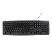 Клавиатура GEMBIRD KB-8320-BL, черная, PS/2