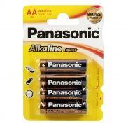 Батарейка AA Panasonic LR6/4BL Alkaline Power, 4шт, блистер