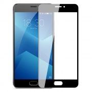Защитное стекло для экрана Meizu M5 Note Black, Full Screen Asahi, Perfeo (PF_A4009)