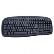 Клавиатура беспроводная Perfeo PF-5000 Ellipse, черная, USB