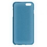 Клип-кейс для Apple iPhone 6/6S, синий, шероховатый, TPU, Perfeo (PF_5270)