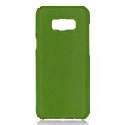 Клип-кейс для Samsung S8, зеленый, шероховатый, TPU, Perfeo (PF_5291)