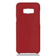 Клип-кейс для Samsung S8, красный, шероховатый, TPU, Perfeo (PF_5289)