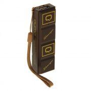 Зарядное устройство Qumo PowerAid Chocolate 2600 мА/ч, коричневое (22043)