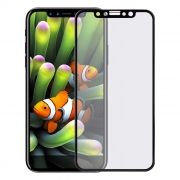 Защитное стекло для экрана iPhone X Black, 3D Gorilla, Perfeo (PF_5324)