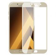 Защитное стекло для экрана Samsung Galaxy A7 (17) Gold, Full Screen Asahi, Perfeo (PF_5079)