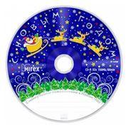Диск CD-R MIREX 700Mb Новогодние