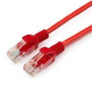 Кабель патч-корд UTP 5е категории 1 м, красный, Cablexpert (PP12-1M/R)