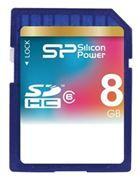 Карта памяти SDHC 8Gb Silicon Power Class 6 (SP008GBSDH006V10)