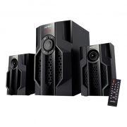 Колонки 2.1 Perfeo Totem, MP3, FM, Bluetooth, пульт ДУ (PF-105C-BL) (PF_5226)