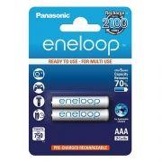 Аккумулятор AAA Panasonic Eneloop 750мА/ч Ni-Mh, 2шт, блистер (BK-4MCCE/2BE)