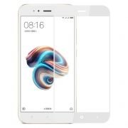 Защитное стекло для экрана Xiaomi MI 5X/A1 White, Full Screen Asahi, Perfeo (PF_4058)