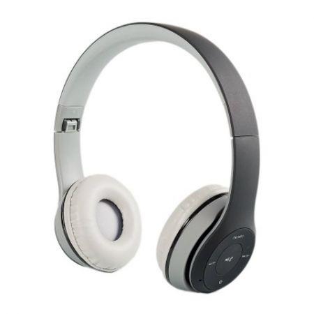 Гарнитура Bluetooth BLAST BAH-820BT, MP3, FM, серая (10014)