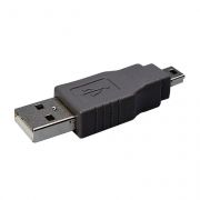 Адаптер USB 2.0 Am - mini Bm, Premier (6-092)