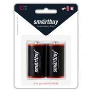 Батарейка C SmartBuy R14/2B, солевая, 2шт, блистер (SBBZ-C02B)