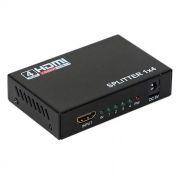 Разветвитель 1 HDMI вход => 4 HDMI выхода, 1080p, HDCP, 3D, ORIENT HSP0104N