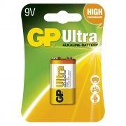 Батарейка 9V GP 6LR61 Ultra, щелочная, блистер (1604AU-CR1)