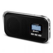 Мини аудио система SVEN PS-65, MP3, FM, черная