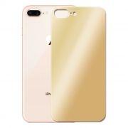 Защитное стекло обратной стороны iPhone 8+ Gold, 3D Gorilla 0.33мм, Perfeo (PF_4066)