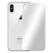 Защитное стекло обратной стороны iPhone X Silver, 3D Gorilla 0.33мм, Perfeo (PF_4068)