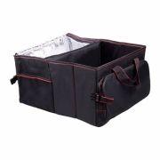 Автомобильная сумка-органайзер с термоотделением в багажник, 25x60x35 см, чёрная, RITMIX RAO-1203