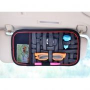 Держатель-органайзер на козырек автомобиля, 31x17 см, чёрный, RITMIX RAO-1274A