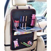 Автомобильный органайзер-столик на спинку сиденья, 38x60 см, черный, RITMIX RAO-1636