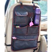Автомобильный чехол-органайзер на спинку сиденья, 41x65 см, черный, RITMIX RAO-1320