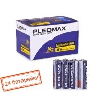 Батарейка AA SAMSUNG PLEOMAX R6, солевая, 24 шт, коробка