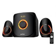 Колонки 2.1 Perfeo MARS, MP3, FM, Bluetooth, пульт ДУ (PF-3313) (PF_5228)