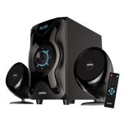 Колонки 2.1 Perfeo SHUTTLE, MP3, FM, Bluetooth, пульт ДУ (PF-3670) (PF_5229)
