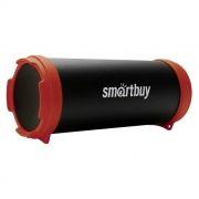 Колонка 1.0 SmartBuy TUBER MKII, Bluetooth, MP3, FM, черный/красный (SBS-4300)