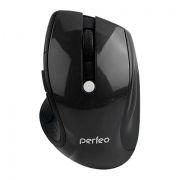 Мышь беспроводная Perfeo Blues, черная, USB (PF-522-B) (PF_5358)