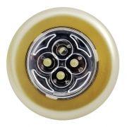 Фонарь СТАРТ PL-4LED C1 Пушлайт, золотистый, 4 LED, 3XAAA