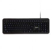 Клавиатура Gembird KB-200L USB, подсветка символов