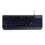 Клавиатура игровая Gembird KB-G20L USB, синяя подсветка + код Survarium