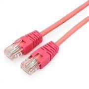 Кабель патч-корд UTP 5е категории 3 м, розовый, Cablexpert (PP12-3M/RO)